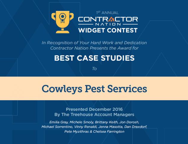 Cowleys wins Best Case Studies Award
