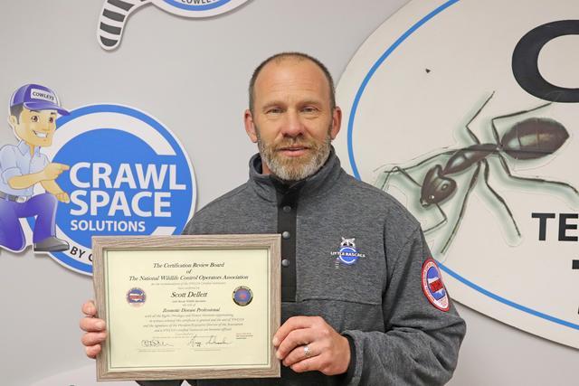 Scott Dellett Now a Certified Zoonotic Disease Professional