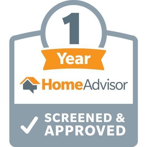 1-Year HomeAdvisor Screened & Approved Award