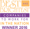 Quality 1st Names of of the Best and Brightest Companies to Work for in the Nation 2016