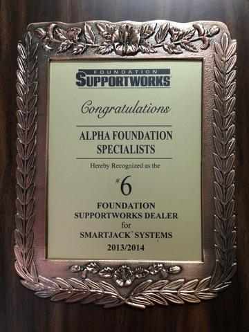 2013-14 Foundation Supportworks Smart Jack Dealer Award