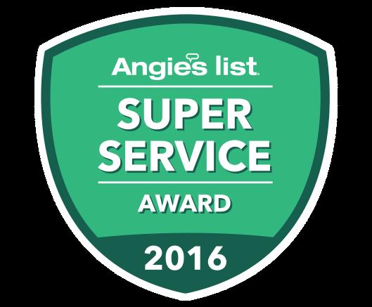 2016 Angies List Super Service Award