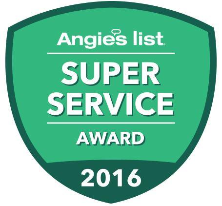 Dr. Energy Saver of Connecticut Receives The 2016 Super Service Award from Angie's List