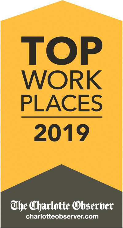 Top Place to work Charlotte 2019