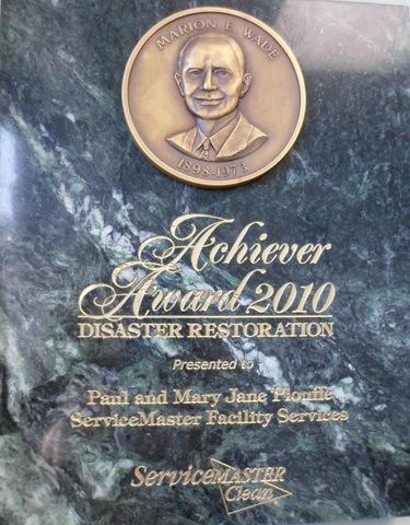 Marion E. Wade Achiever Award 2010: Disaster Restoration