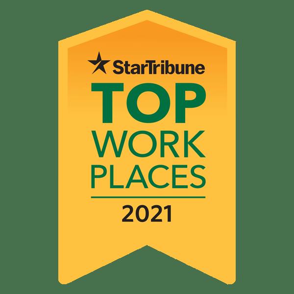 Star Tribune's Top Workplace 2021