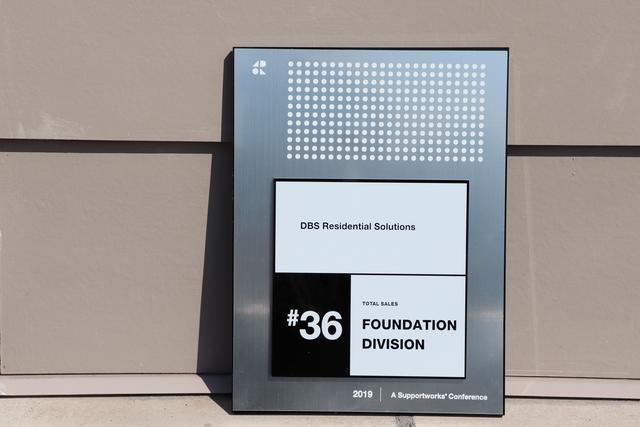 DBS #36 Foundation Supportworks Dealer For Total Sales