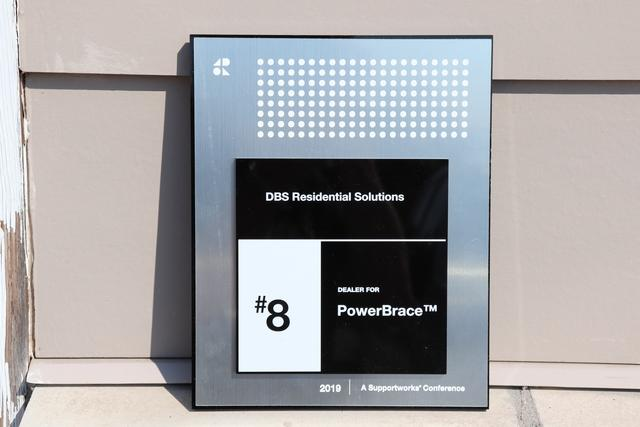 DBS Earns #8 PowerBrace™ Dealer from Foundation Supportworks