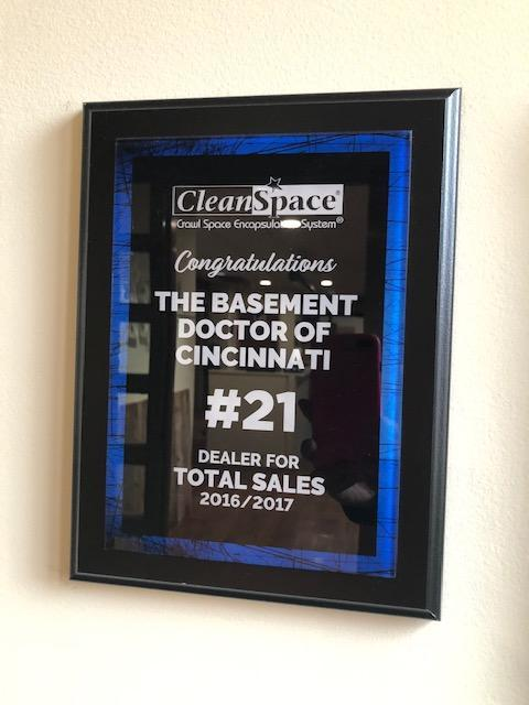 CleanSpace #21 Dealer for Total Sales 2016-2017