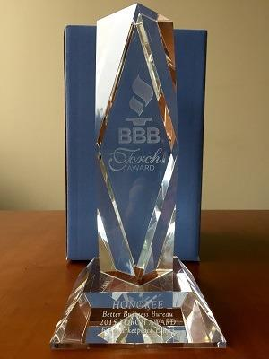 The Basement Doctor of Cincy Wins BBB Torch Award Honoree Honor