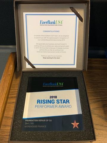 Rising Star Award 2018
