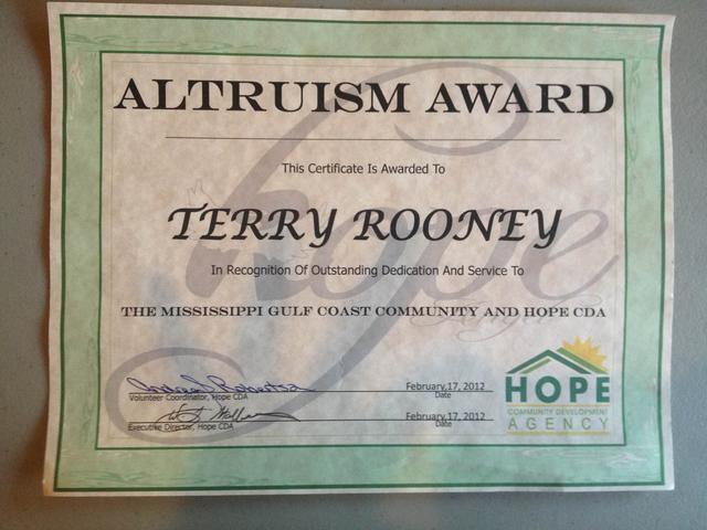 Altruism Award