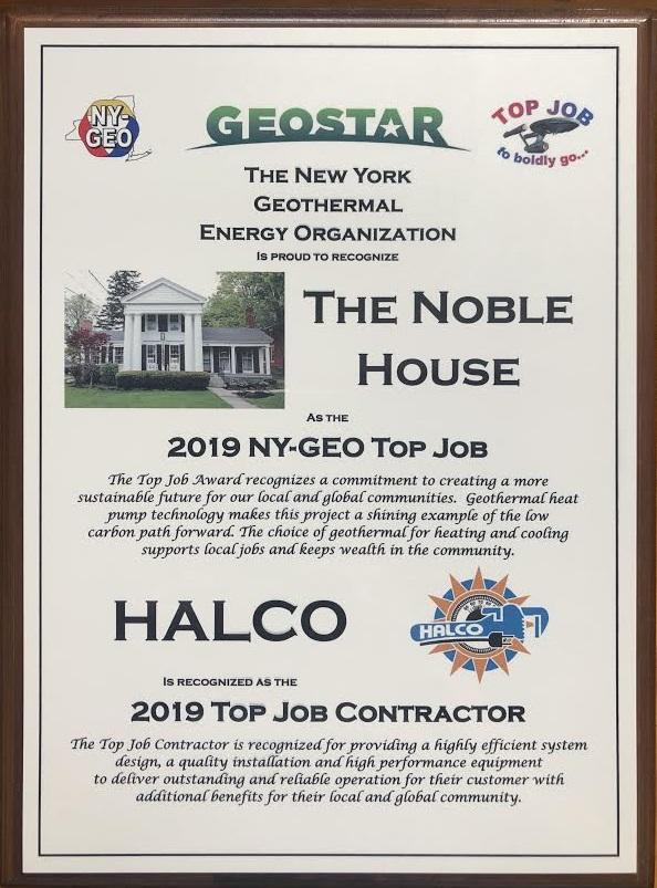 NY-GEO Top Job Award