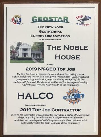 NY-GEO Top Job Award