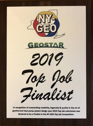 NY-GEO Top Job Finalist