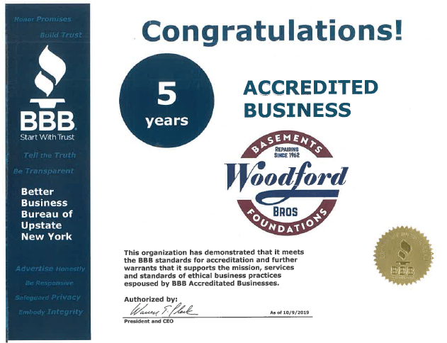 BBB 5 years Accredited Business