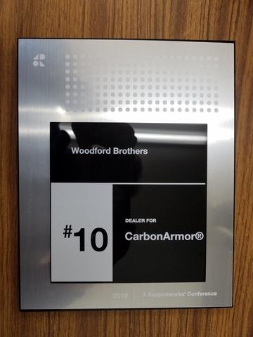 Top 10 dealer for Carbon Armor in North America