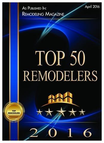 Top 50 Remodelers 2016