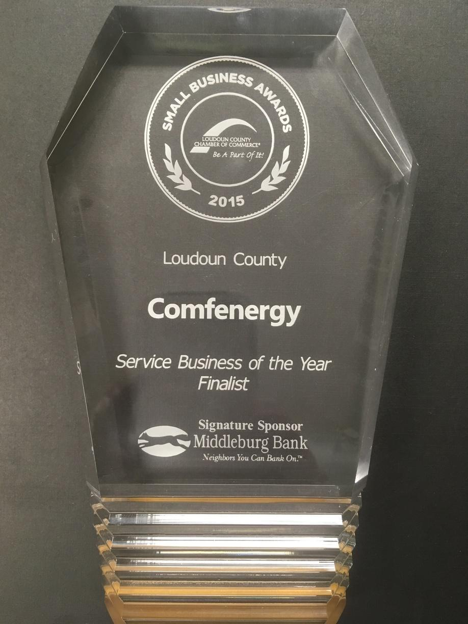 Service Business of the Year Finalist-2015