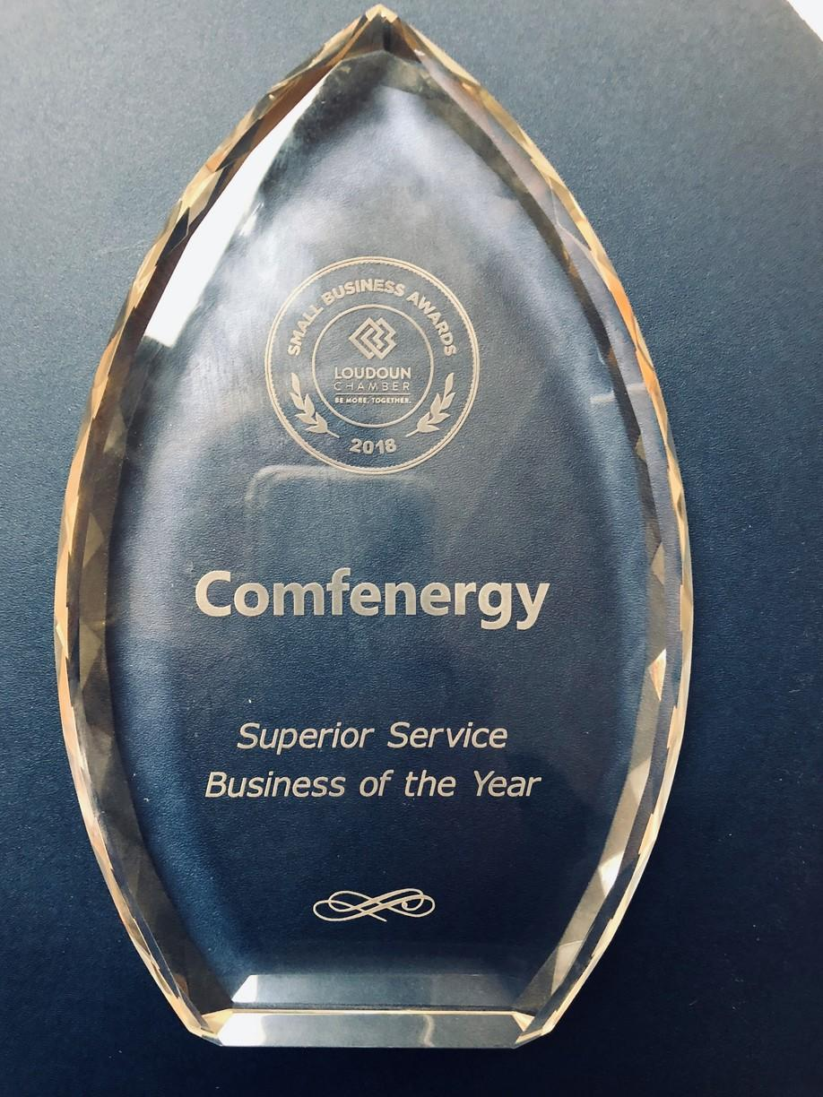 2018 Superior Service Business of the Year