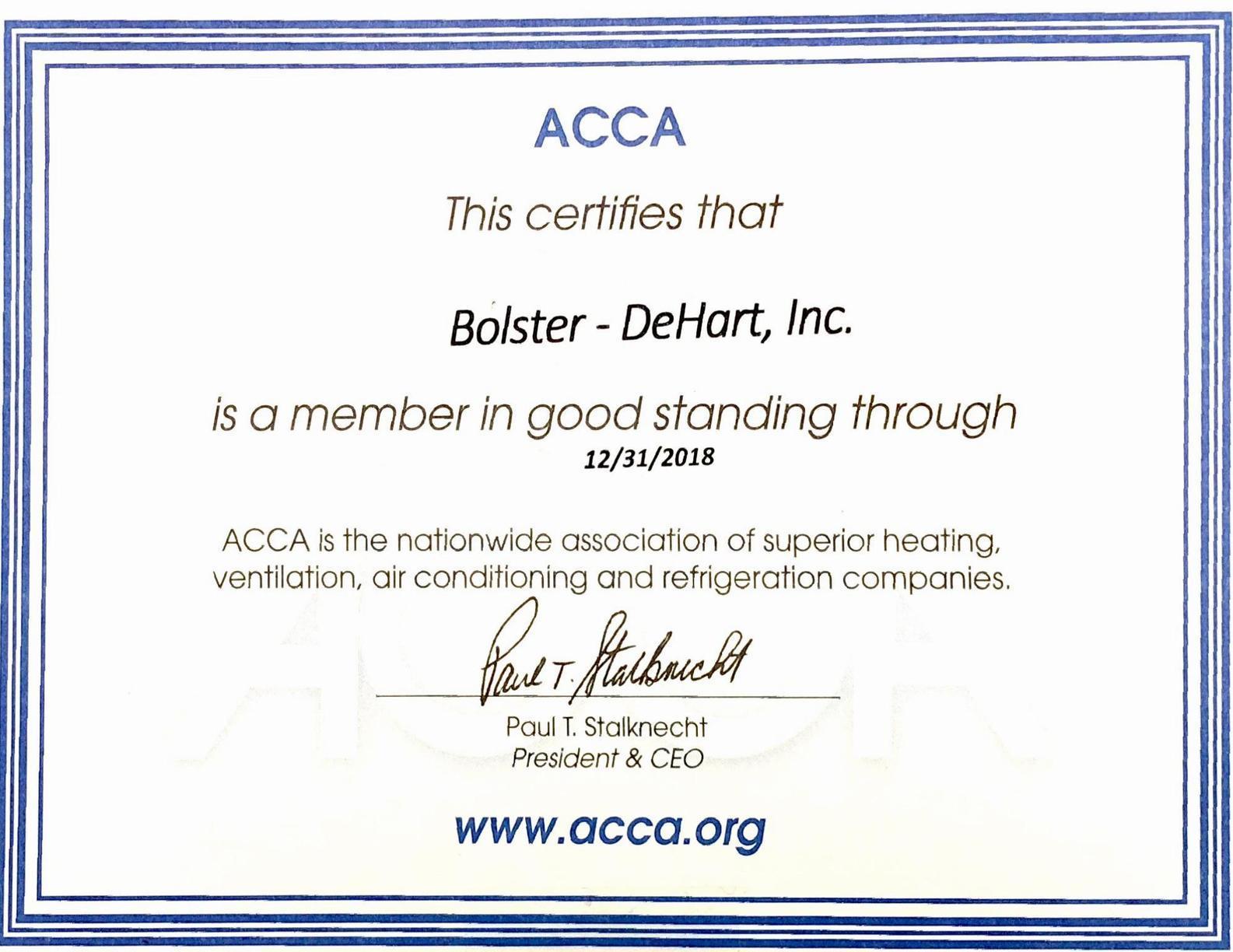 ACCA Award