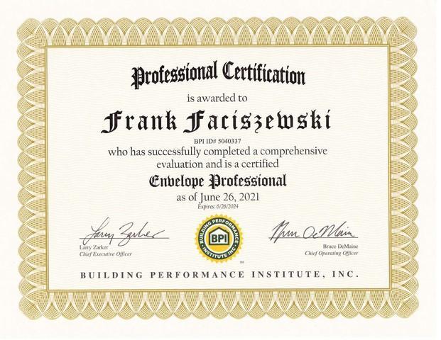 Envelope Professional - Frank Faciszewski
