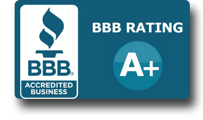 A+ rating from the BBB
