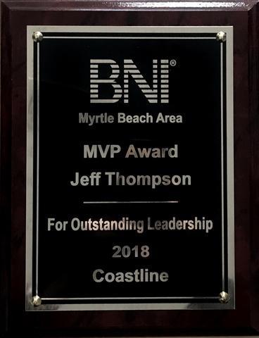 BNI - MVP Award