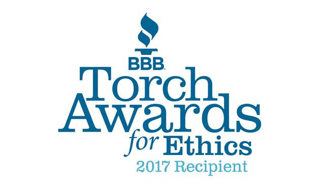 2017 BBB Torch Award for Ethics