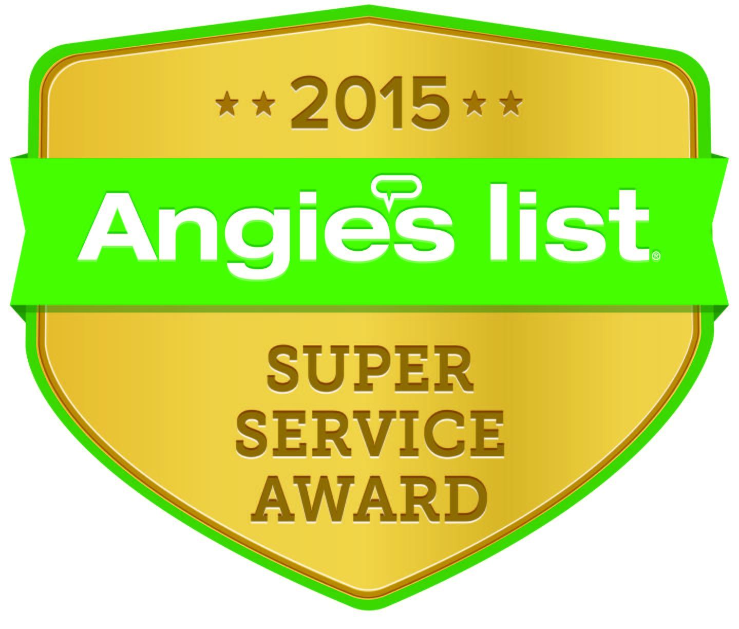 2015 Super Service Award Winners