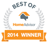 Best of Home Advisor 2014 Winner