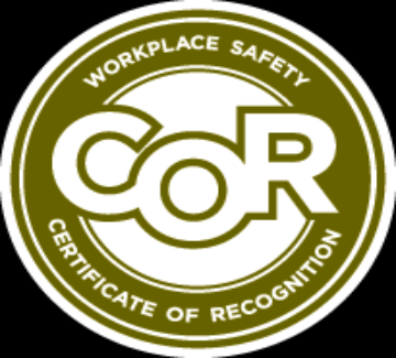 PolyLEVEL Alberta Corp is COR Certified.  (Certificate Of Recognition)