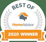 HomeAdvisor - Best Of 2020 Award