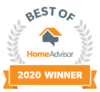 HomeAdvisor - Best Of 2020 Award