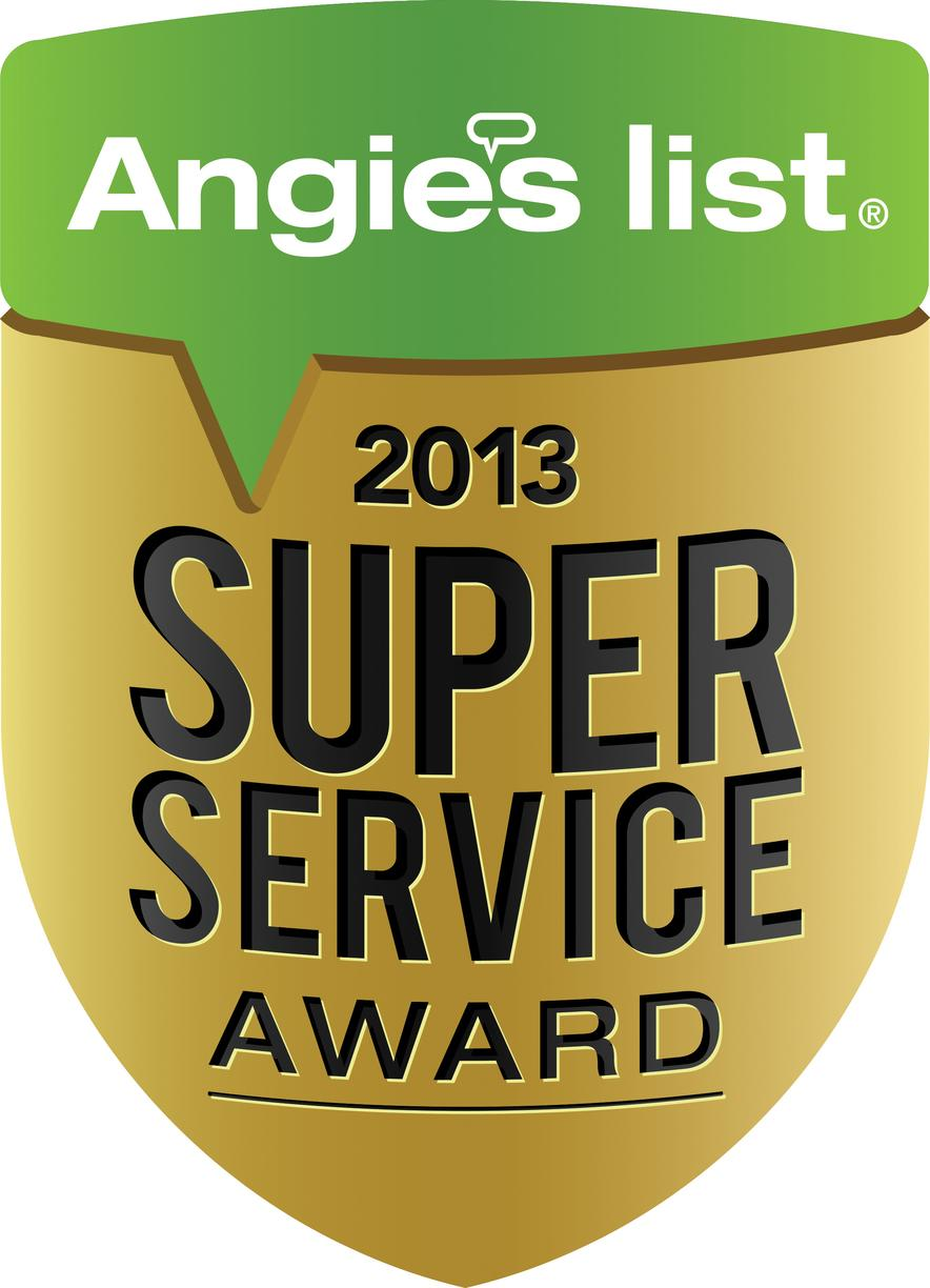 Xterior Solutions Angie's List Super Service Award 2013