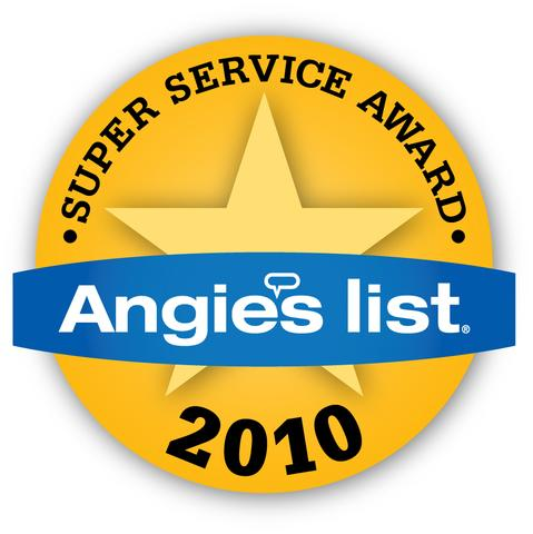 Angie S List Super Service Award 2010