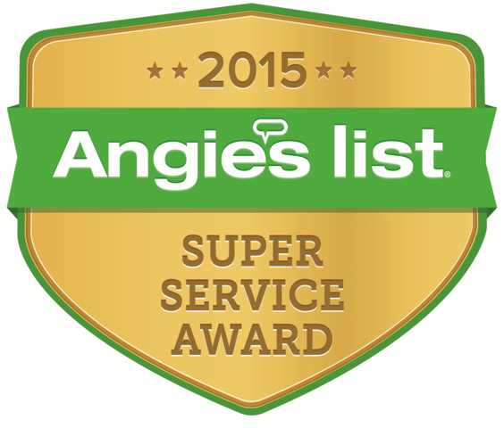 Angies List Super Service Award, 2015