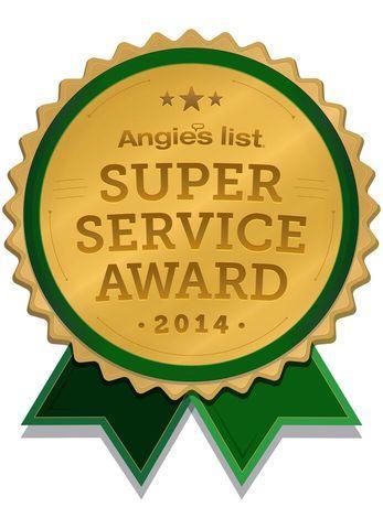 Angie's List Super Service Award, 2014