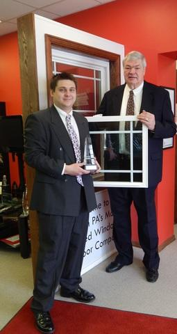 Energy Swing Windows Presented With The 2014 Pittsburgh Business Ethics Award