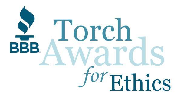 Better Business Bureau (BBB) Torch Award for Marketplace Ethics 2015