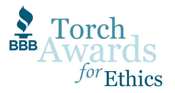 Better Business Bureau (BBB) Torch Award for Marketplace Ethics 2016