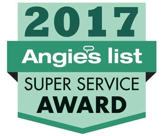 2017 Angieslist Super Service Award