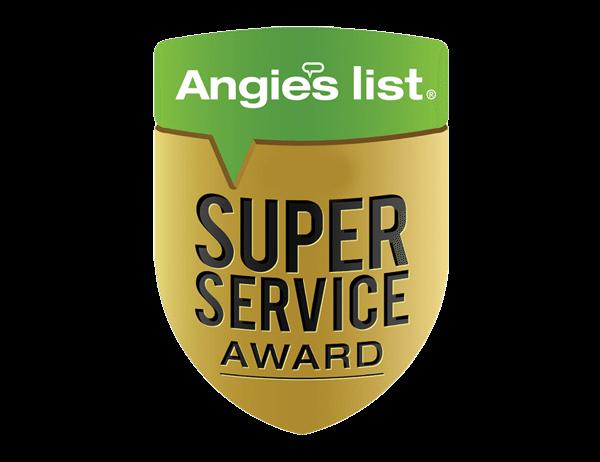 Angie's List Super Service Award 2004-2018