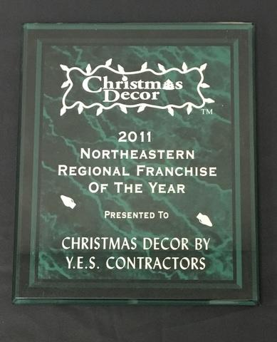 Northeastern Regional Franchise of the Year - Christmas Decor, 2011