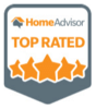 HomeAdvisor Top Rated Contractor!