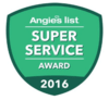 Angie's List Gold Super Service Award 2016