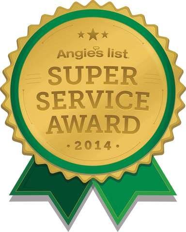 Angie's List Super Service Award 2014
