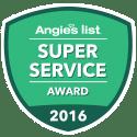 Angie's List Super Service Award 2016