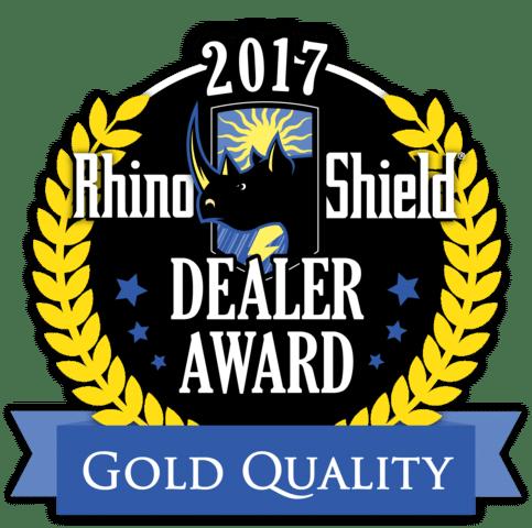 2017 Rhino Shield Gold Quality Award