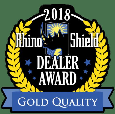2018 Rhino Shield Gold Quality Award